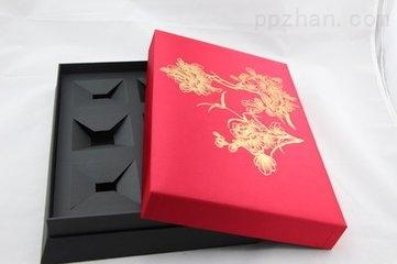 【供应】丝印烫金PVC天地盒,PVC盒子,白色纸盒