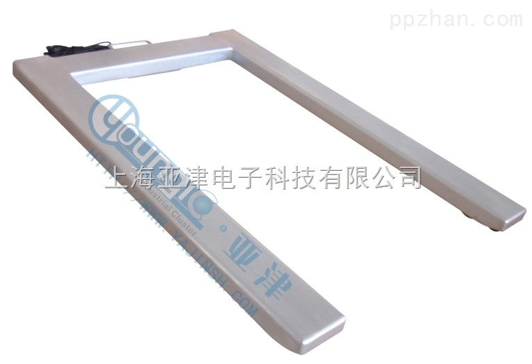 上海U形电子地磅P711-1T不锈地磅价格
