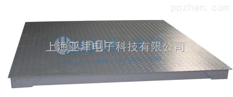 电子地磅称价格亚津碳钢2T上海单层电子地磅