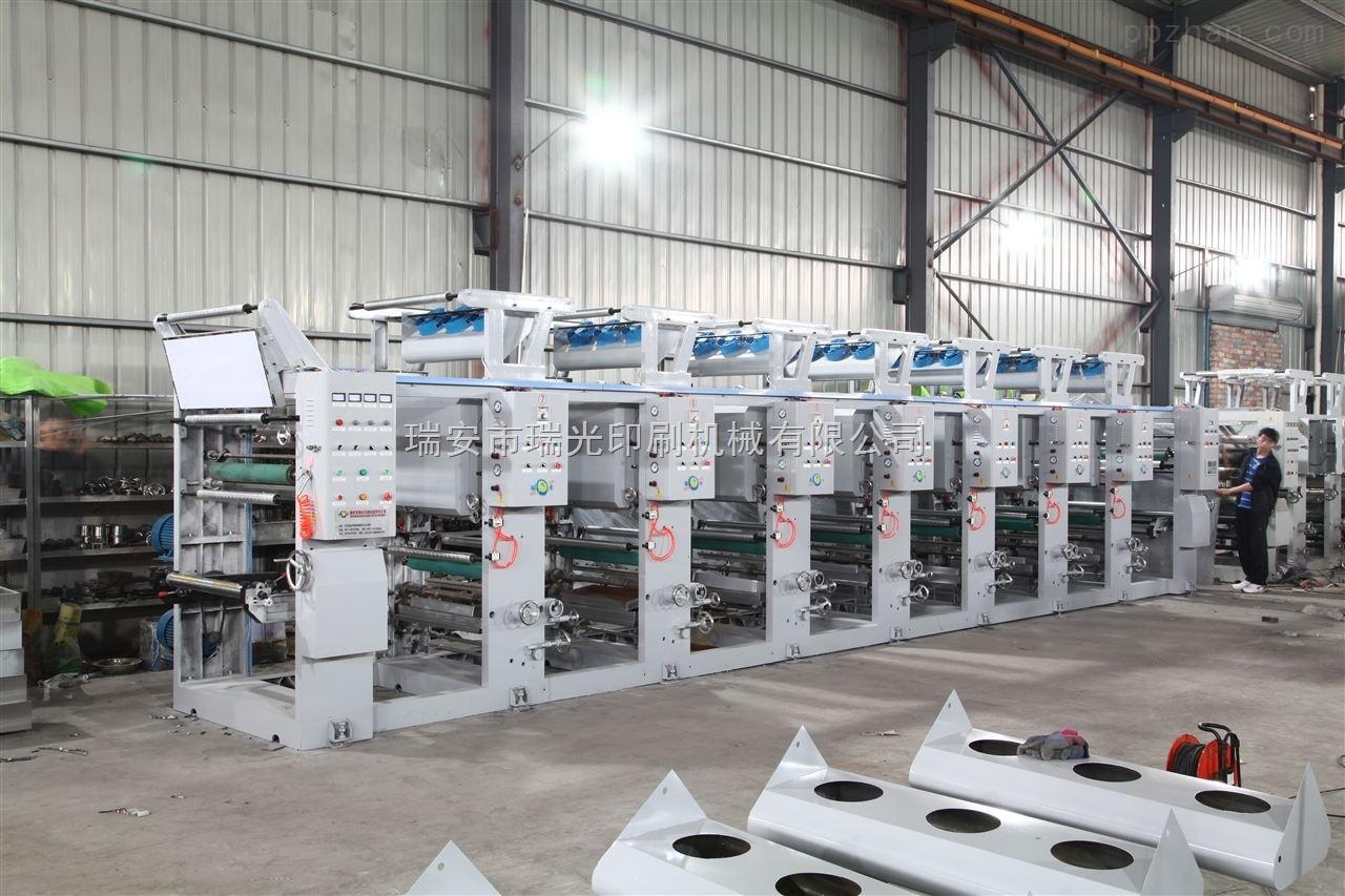 ASY-800型4色-供应塑料彩色印刷机,塑料凹版印刷机,彩色凹版印刷机