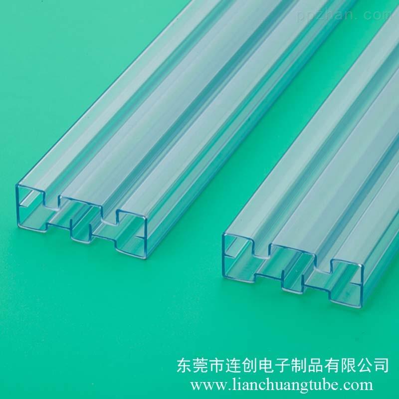透明塑料方管半导体封装管SMD异形挤出管