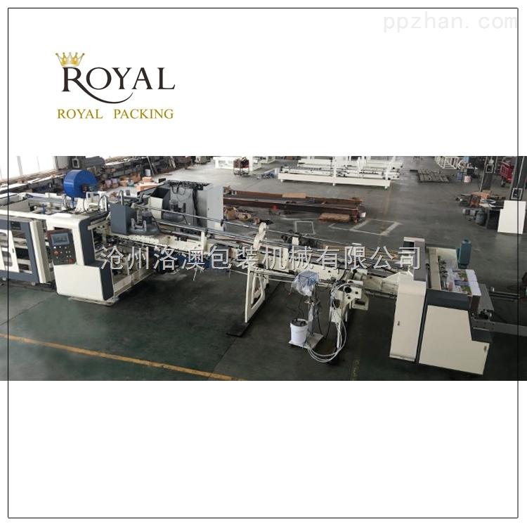 纸箱生产加工机械 纸箱设备 高速下折式电脑糊箱机