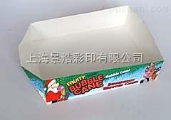350克白卡纸托盘供应商 包装纸托盘 上海包装厂彩盒