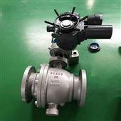 Q947F电动固定球阀多回转执行器高温高压硬密封