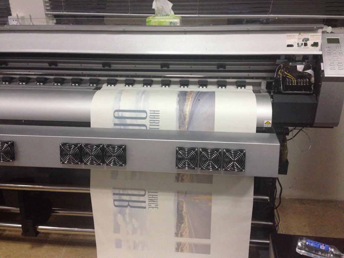 1.52米室内带胶灯片写真机 橱窗pp纸宣传海报打印机