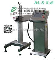 惠州制药二氧化碳镭射打码机/深圳佛山日化在线式全自动激光打标机/