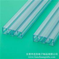 pvc透明方管厂家 ic吸塑管磁性材料包装管