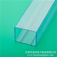 pvc透明方管厂家定制电源IC料管开关包装管