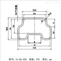 �B��IC�子包�b管多尺寸PVC吸塑管�S商�r格