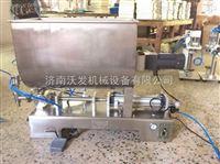 济南沃发现货供应卧式膏体灌装机¥德州小型果酱灌装机/番茄酱灌装机