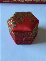 安宫六角锦锻盒
